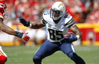 Antonio Gates opens up about giving up a dream, breaking records and more