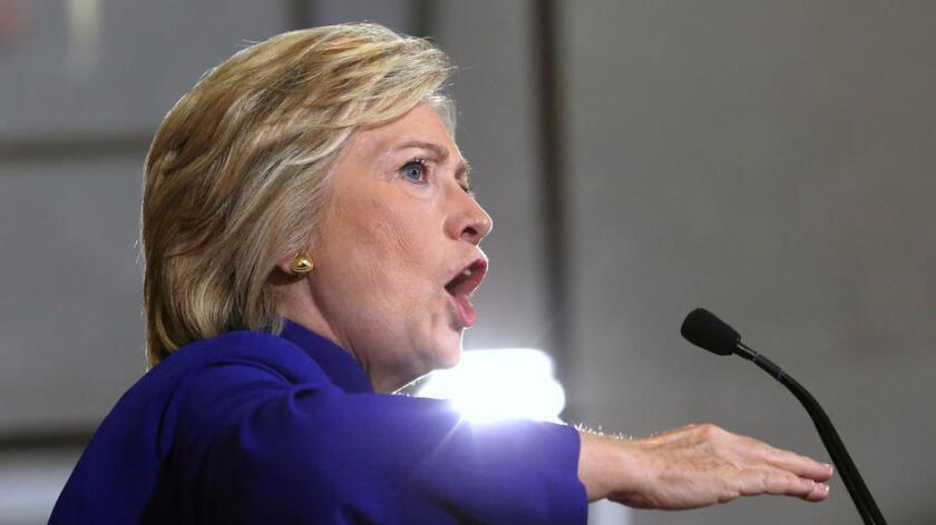 Foto de archivo. Hillary Clinton.
