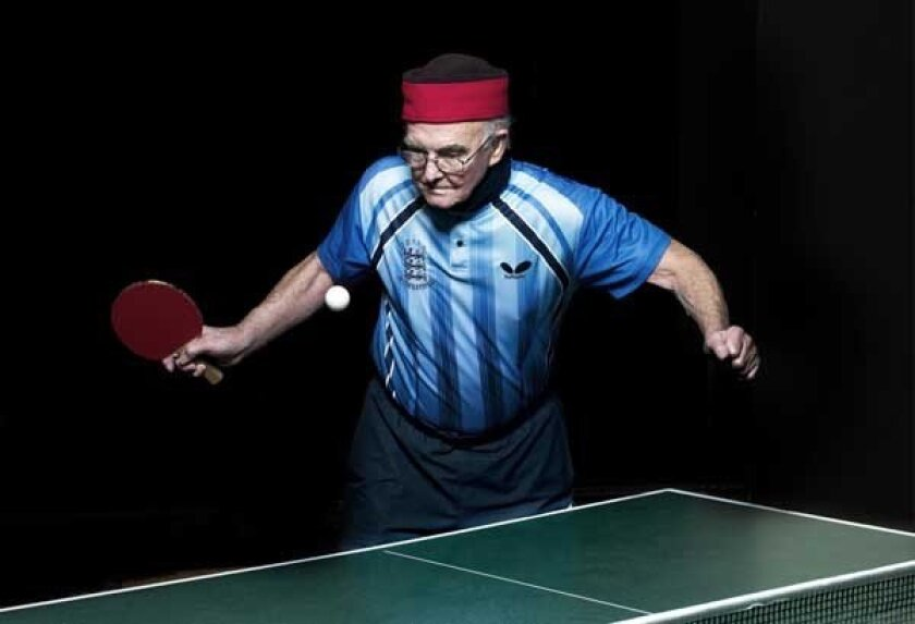 """Players who are older than 80 compete in table tennis in """"POV: Ping Pong"""" on PBS. With Les D'arcy."""