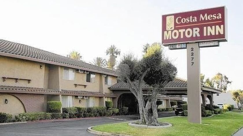 The last residents of the now-closed Costa Mesa Motor Inn moved out last month.