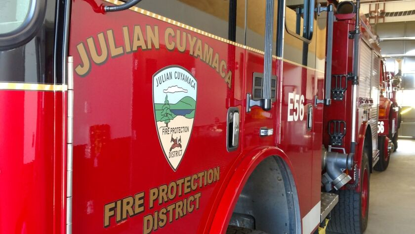The Julian Cuyamaca Fire Protection District has once again opted not to join the county's Fire Auth