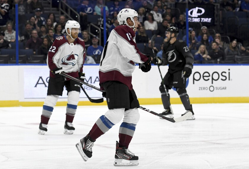 Avalanche Lightning Hockey