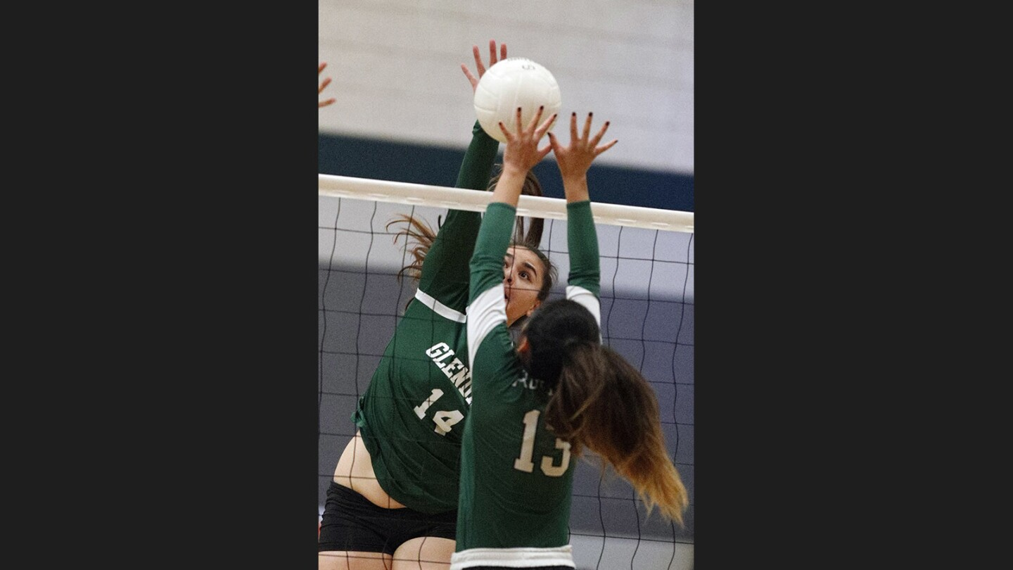 Photo Gallery: Glendale Adventist Academy vs. Providence in Liberty League girls' volleyball