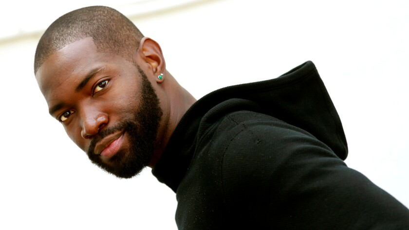 """Tarell Alvin McCraney wrote the play, """"In Moonlight Black Boys Look Blue,"""" the basis for the new film """"Moonlight."""""""