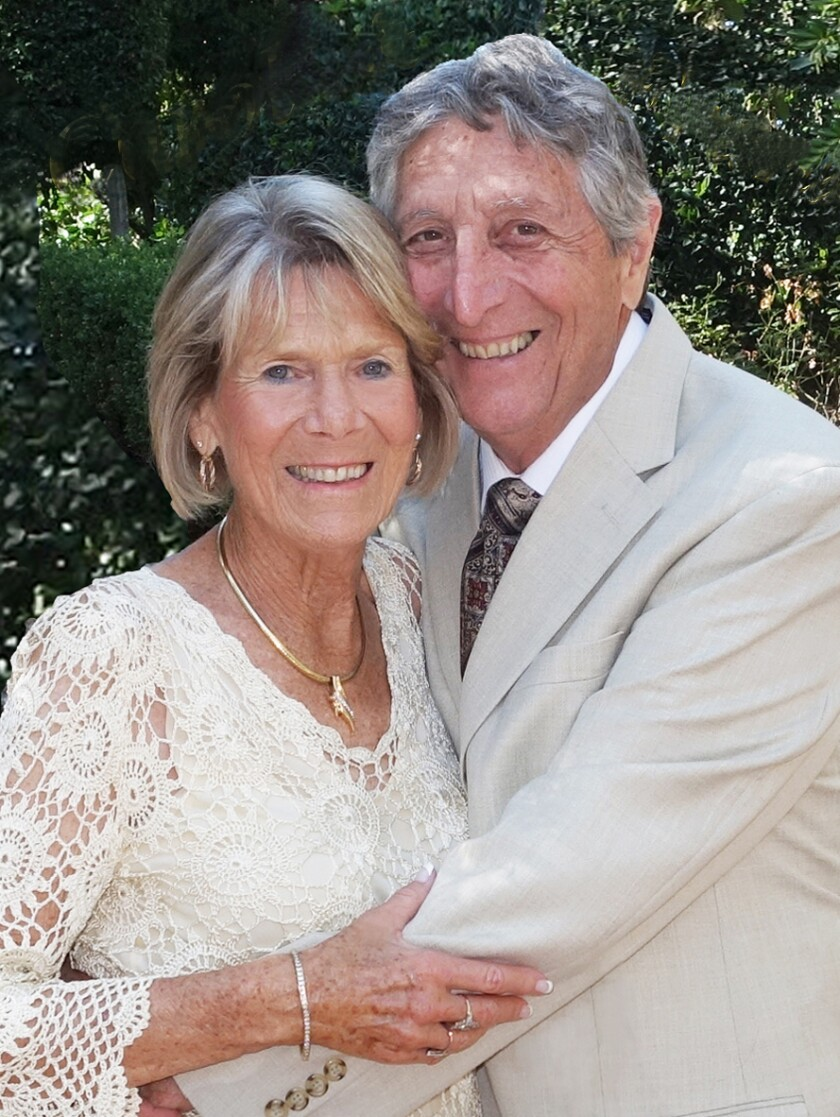 Carol and Frank Crisci share 50 years of bliss.