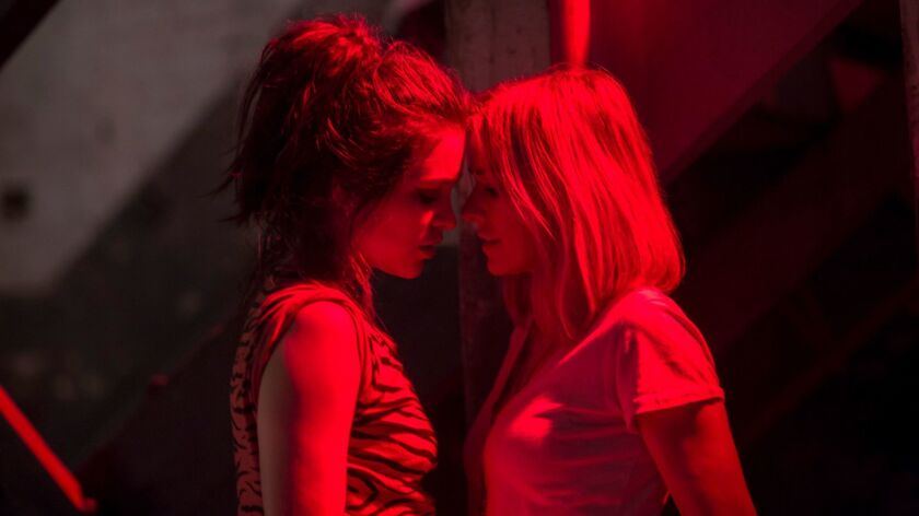 """Sophie Cookson and Naomi Watts in """"Gypsy"""""""