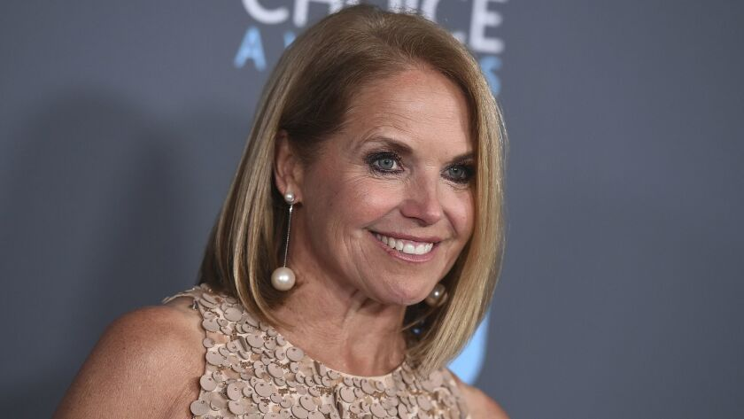 """Katie Couric is writing a memoir, one she is counting on to live up to its title: """"Unexpected."""""""