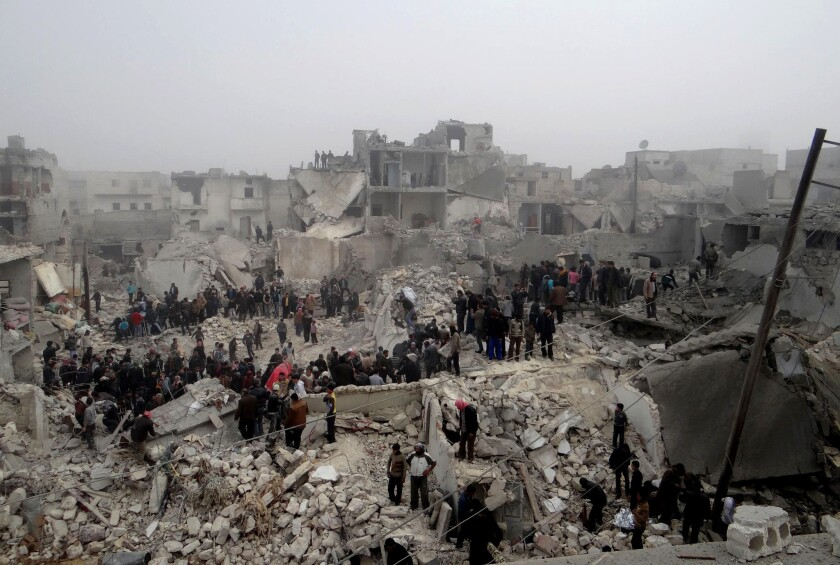 In Syria, more than two dozen dead in latest attack on Aleppo