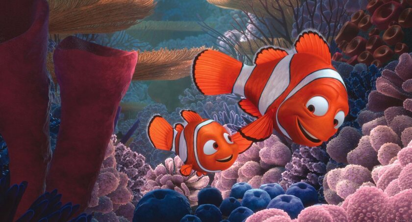 "A still from animated movie ""Finding Nemo"" (2003)"