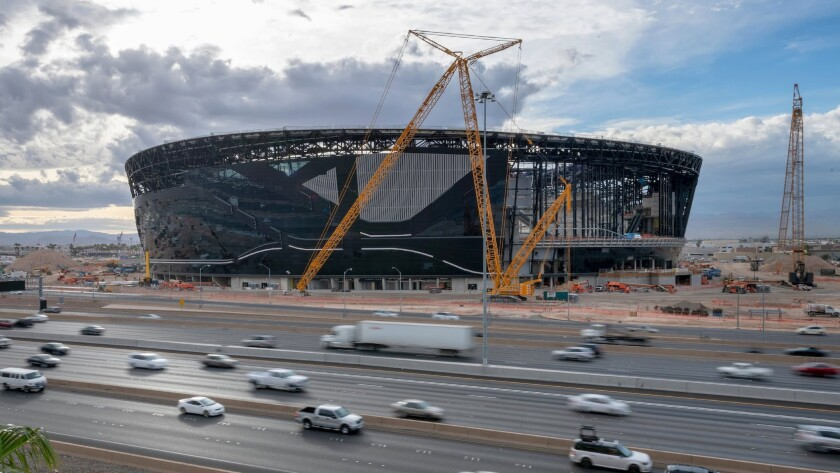 Allegiant Stadium in Las Vegas will be the new home of the Raiders.