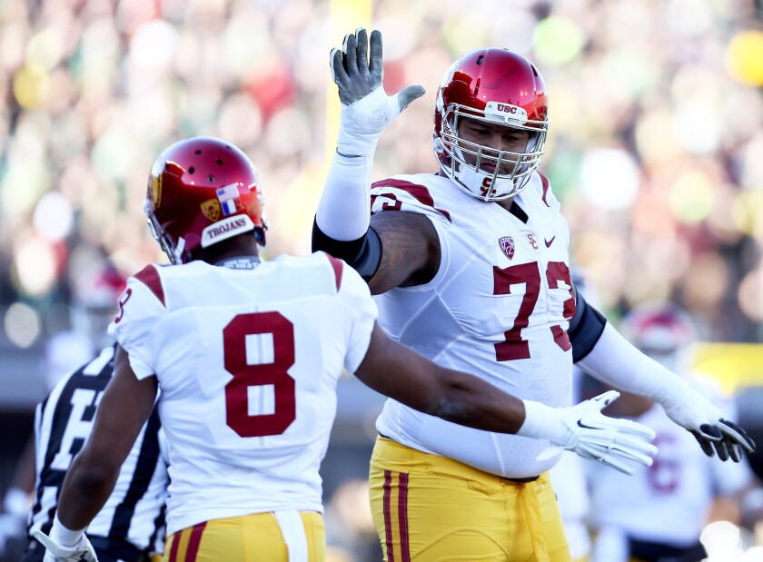 USC spring football preview: Offensive line should be a strength