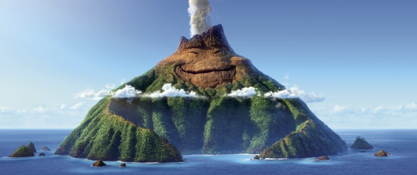 """The character Uku from Pixar's """"Lava."""""""