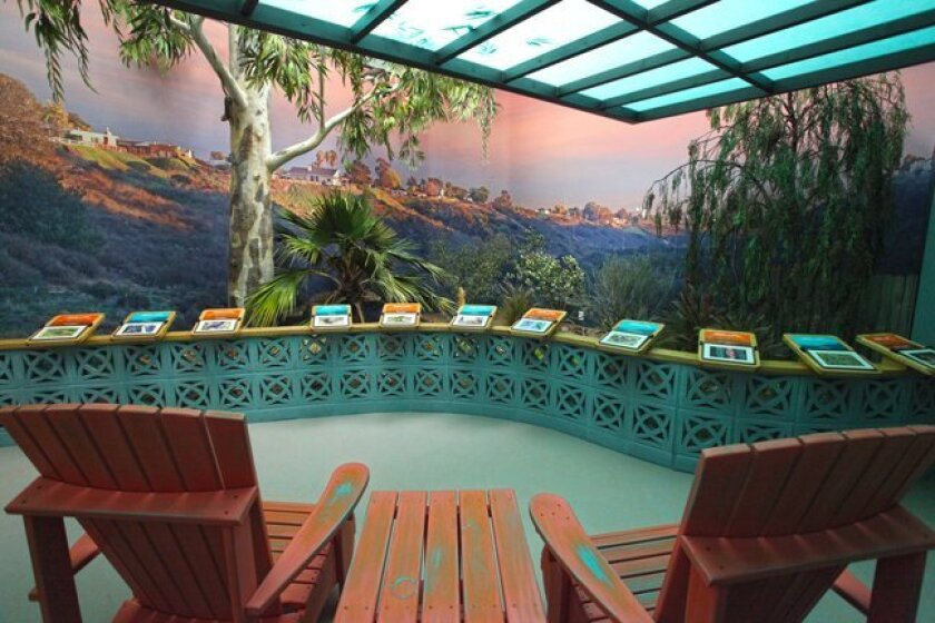 A giant diorama about Torrey Pines State Reserve is part of the new 'Coast to Cactus in Southern California' exhibition at theNAT (San Diego Natural History Museum).
