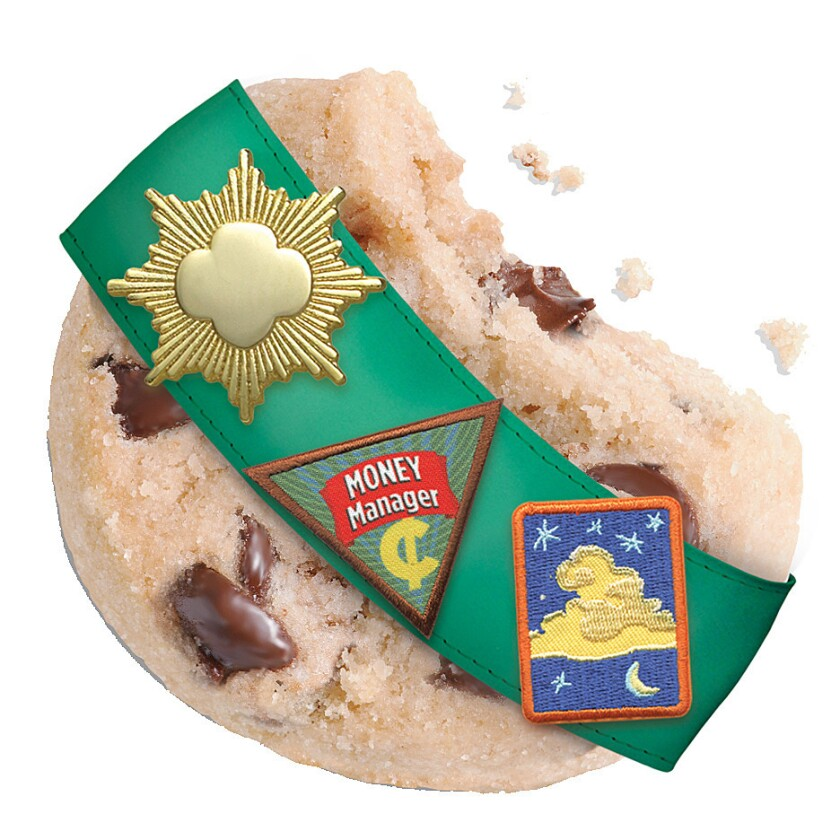Gluten-free Girl Scout cookie