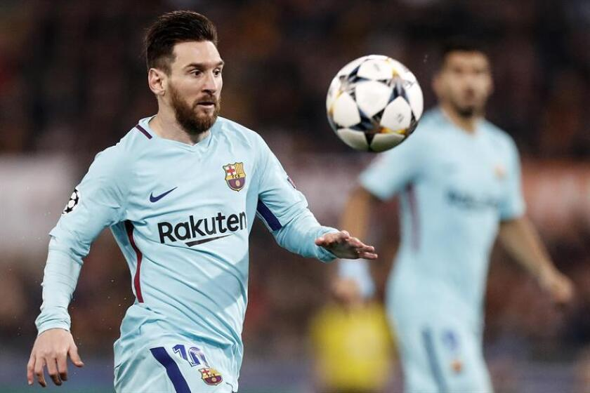 El jugador de Barcelona Lionel Messi. EFE/Archivo