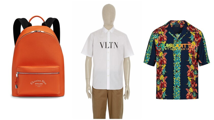 Gucci Valentino Louis Vuitton Here Are 10 Ways You Can Pay Homage To Your Favorite Designer Logos Los Angeles Times