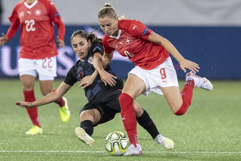 Switzerland Soccer Women UEFA Qualification