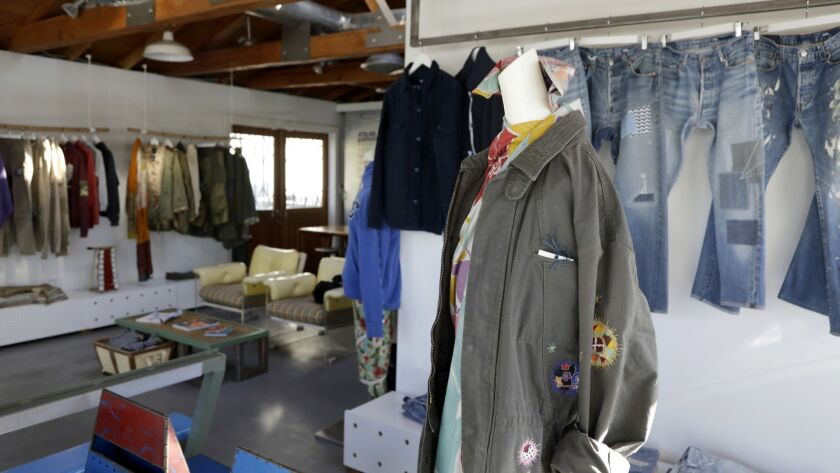 Inside the Atelier & Repairs store founded by apparel veteran Maurizio Donadi.