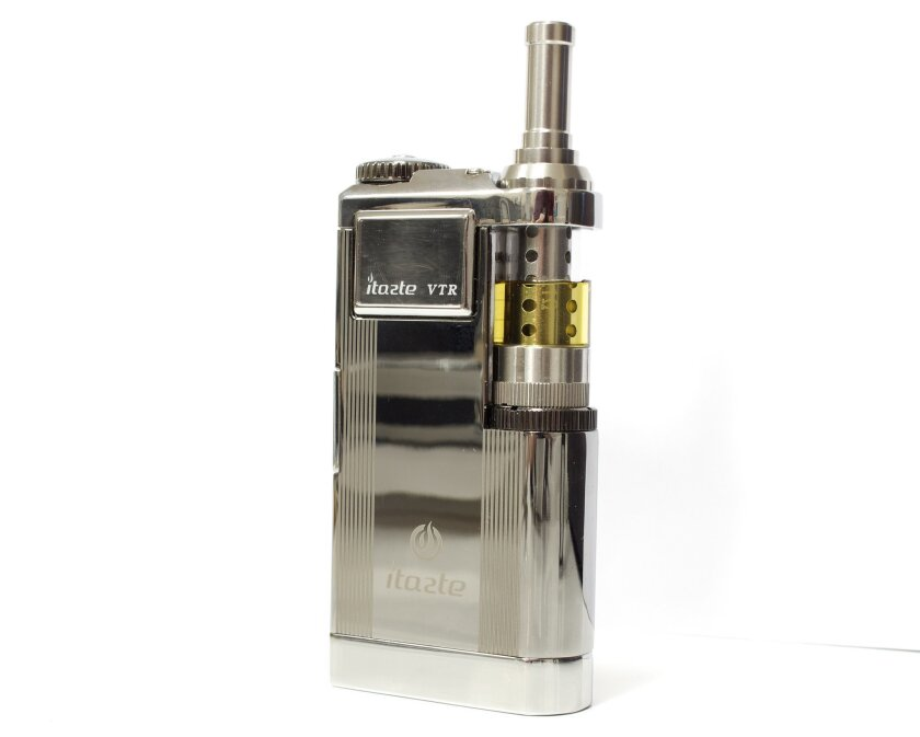 This isn't a Star Trek communicator, but one of the higher-end e-cigarette models, an Innokin iTaste VTR.