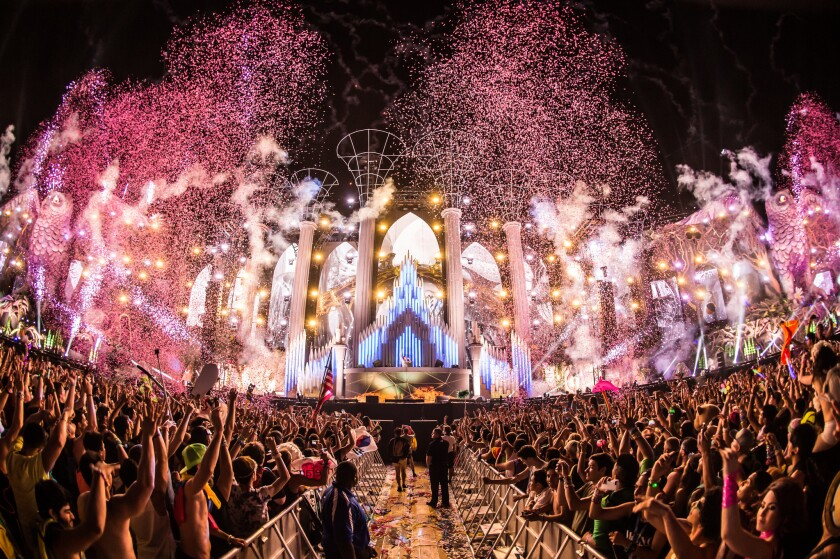 The Kinetic Field at Electric Daisy Carnival 2014. A 24-year-old California man was pronounced dead early Saturday morning near the event.