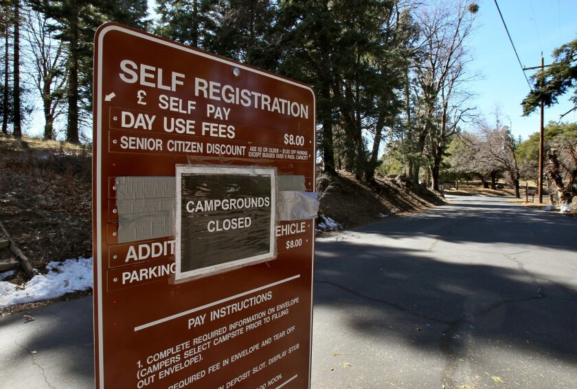 Palomar State Park is on the verge of reopening