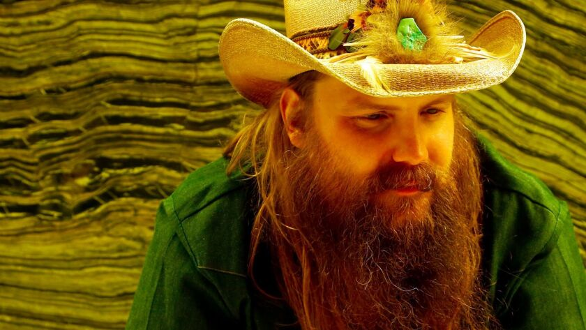 BEVERLY HILLS, CA - MAY 16, 2017 - Country singer Chris Stapleton is on tour after the release of hi