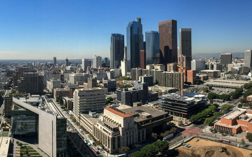 Downtown Los Angeles was one of the leading markets for office space in the second quarter.