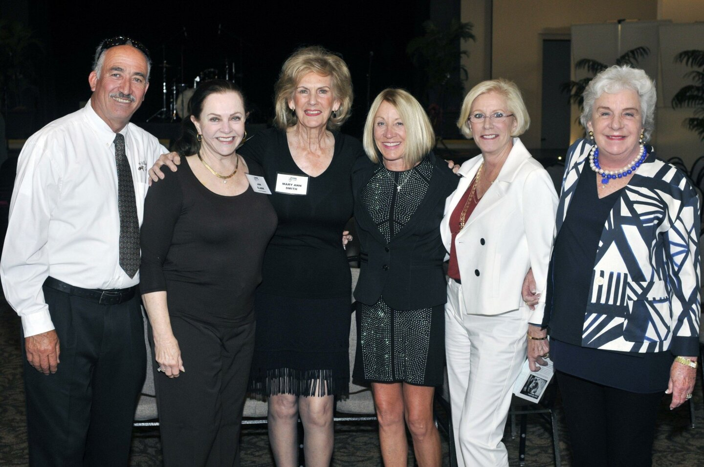 Gustavo Coria, Jan Clark, Mary Ann Smith, Martha Dominguez, Donna Vance, Carol Keeney