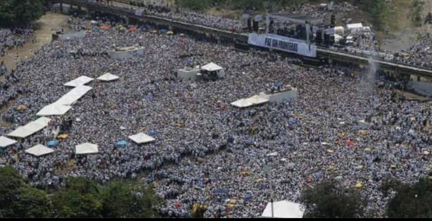 Cucuta, frontera entre Colombia y Venezuela, donde hace unos años se realizó el concierto Paz Sin Fronteras en protesta a la violencia que desde entonces ha ocurrido en Venezuela.