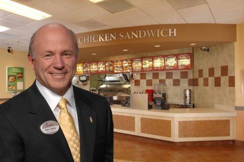 Chick-fil-A President Dan Cathy