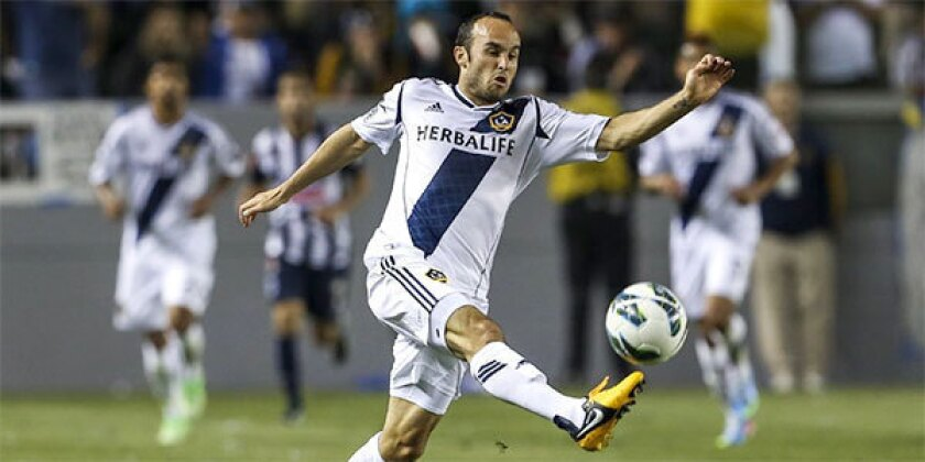 Up next for Galaxy: At Monterrey, Mexico, on Wednesday