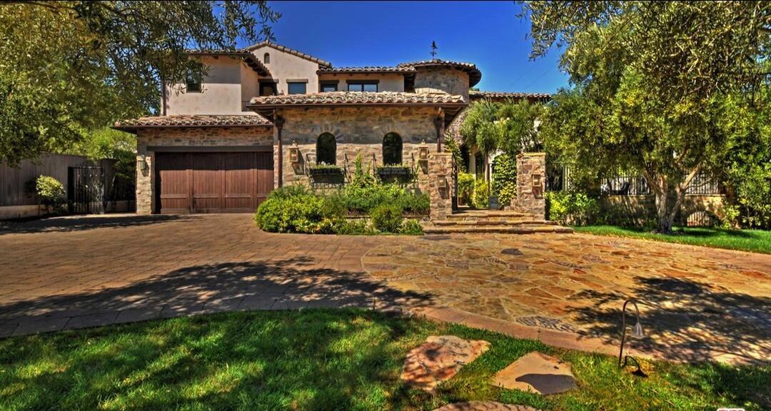 Jeff Dunham's Mediterranean-style villa in Encino