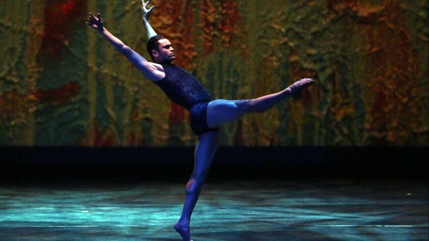 """Gustavo Barros dances """"Naiveté of Flowers."""""""
