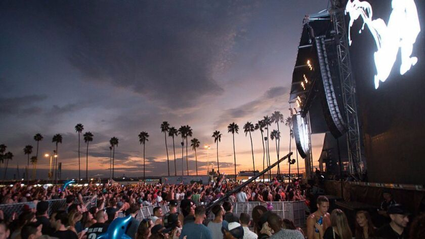 The February, 2016, edition of CRSSD Festival drew a large audience to San Diego's Waterfront Park.
