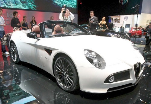 Geneva Motor Show -- 2008