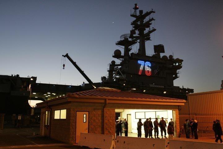 USS Ronald Reagan Goes To Sea