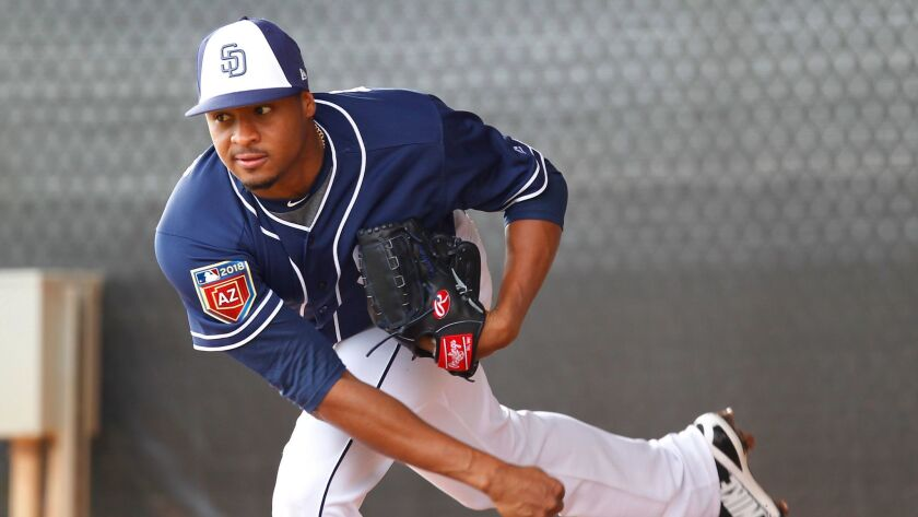 Among returning players, pitcher Luis Perdomo tied Clayton Richard with eight victories last season. Dinelson Lamet had seven.