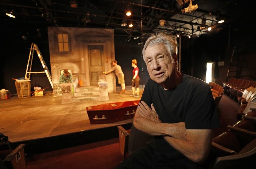 Joe Stern, owner of the Matrix Theater.