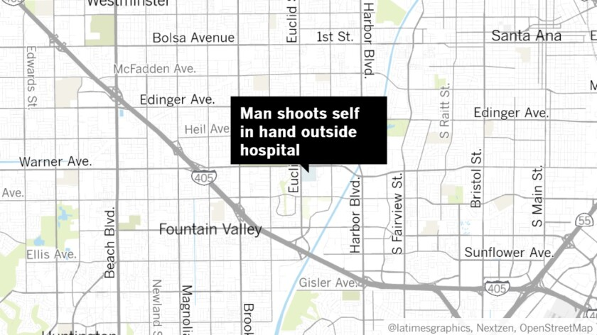 Shooting outside Fountain Valley hospital