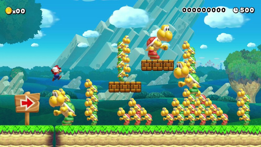 """The new """"Super Mario Maker"""" lets players create their own levels and tinker with the game's worlds."""