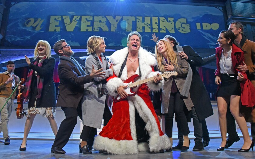 """Rex Smith as Billy Mack in """"Love Actually Live"""" at the Wallis in Beverly Hills."""