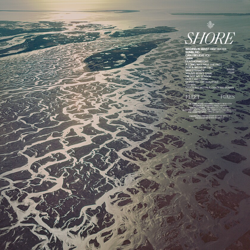 "This cover image released by Anti shows ""Shore"" by Fleet Foxes. (Anti via AP)"