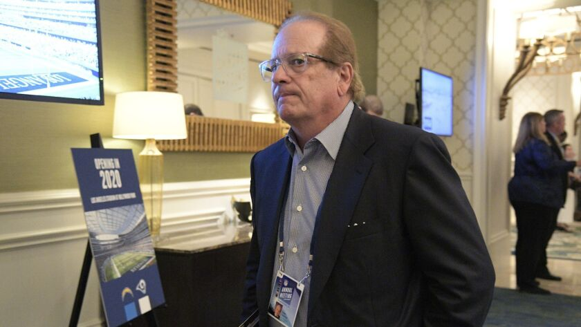 Dean Spanos made the move to Los Angeles to play in the new stadium that Stan Kroenke is building. He could have gotten a new stadium in Las Vegas.