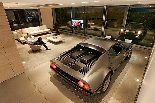Ferrari in the living room