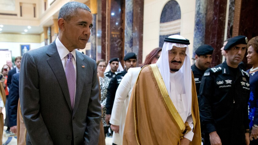President Obama's visit to Riyadh in April