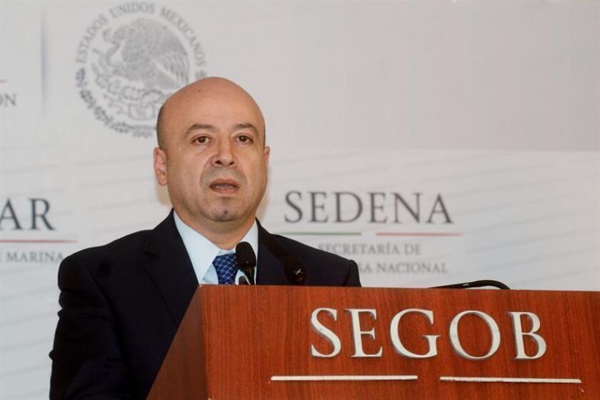 El titular de la Comisión Nacional de Seguridad (CNS), Renato Sales. EFE/ARCHIVO