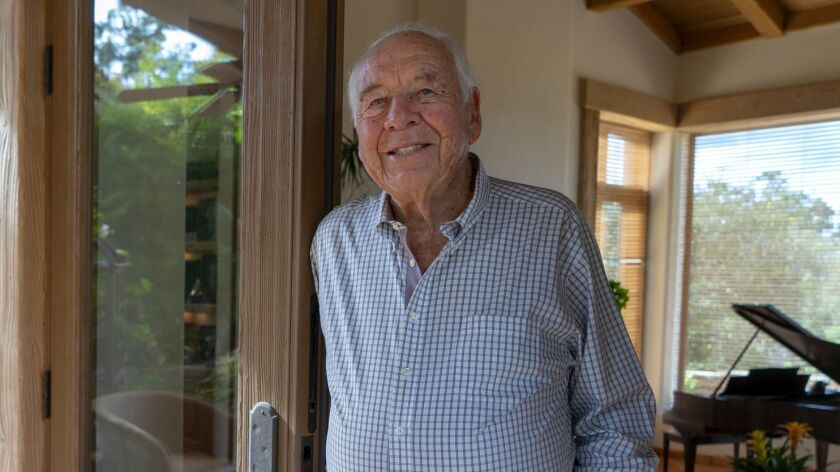 Bob Wilson who attended Escondido High School and now lives in Rancho Santa Fe was struck when he re