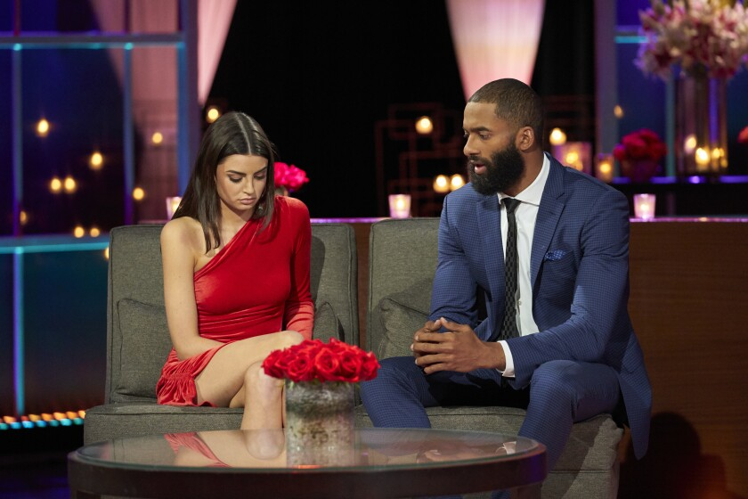 The Bachelor' finale: Matt, Rachael face racism controversy - Los Angeles  Times