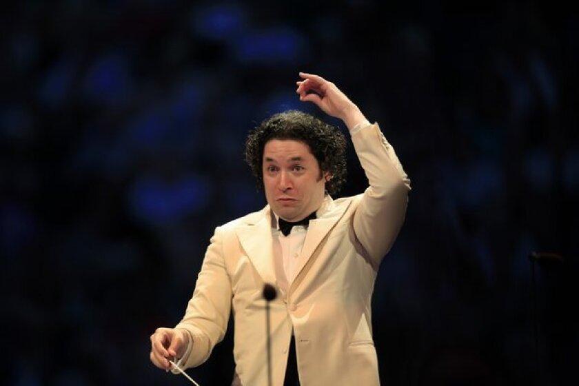 L.A. Philharmonic conductor Gustavo Dudamel.