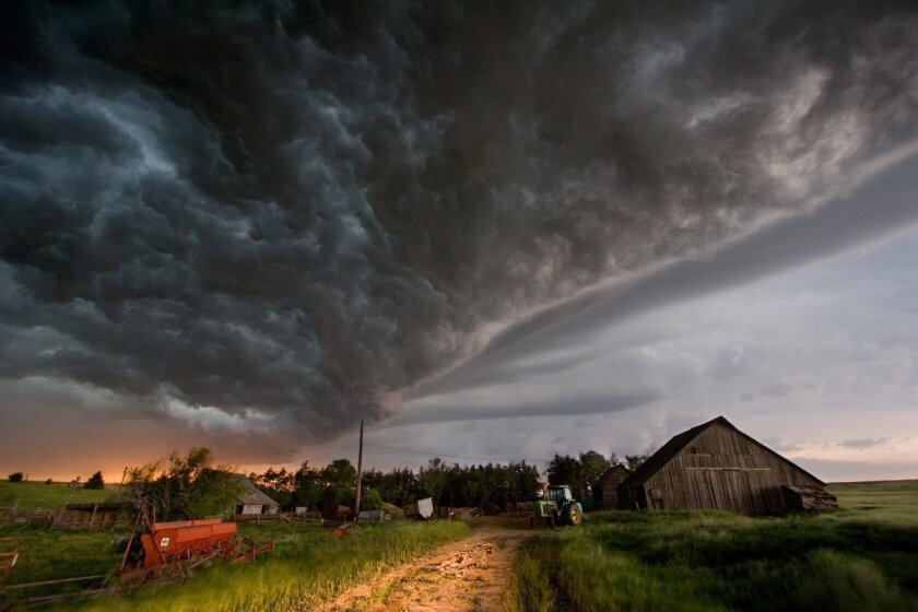 """""""Tornado Alley"""" takes a two-pronged approach, following a filmmaker hoping to get inside a tornado and a research team hunting for useful information."""